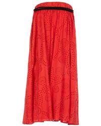Souvenir Clubbing Skirt Rojo