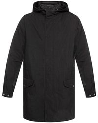 AllSaints Drawstring Jacket - Zwart