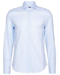 Fedeli Shirt 4ue00512 - 12720 11 - Blauw