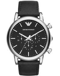 Emporio Armani Watch UR - Ar1828 - Noir