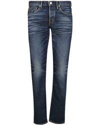 Tom Ford Japanese Selvedge Jeans - Blauw