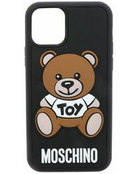 Moschino Coque Iphone 11 PRO MAX - Noir
