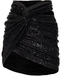 The Attico Skirt - Zwart