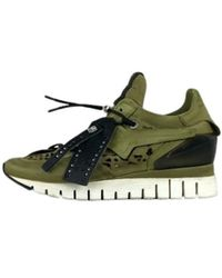 A.s.98 Supersneakers - Groen
