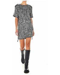 Borbonese Women's Clothing Dress D02a42 02 - Zwart