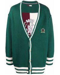 Tommy Hilfiger Hcm Crest&flag College Cardigan - Groen