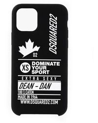 DSquared² Dominate d2 iphone 11 pro case - Noir