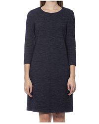 Peserico Dress - Blauw