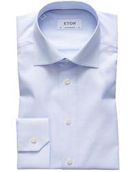 Eton Formal Shirt - Blauw