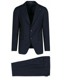 Tagliatore 2svs23b0106upz245b3145 Suit - Blauw