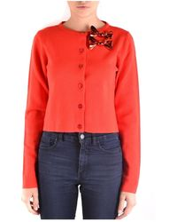 Boutique Moschino Cardigan - Rood