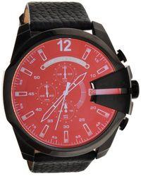 DIESEL Mega Chief Watch - Zwart