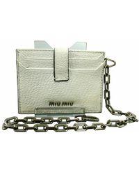 Miu Miu Vintage - Chain Shoulder Bag - Lyst
