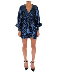 Amen - Sequin-embellished Mini Dress - Lyst