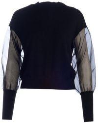 Marella Fibra Pullover 002 - Nero