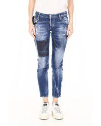 DSquared² Vicious Wash Jeans - Blauw