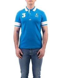 La Martina T-shirt Polo - Blauw