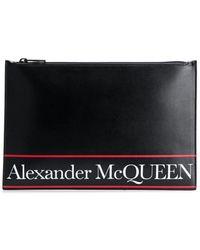 Alexander McQueen Kupplung - Schwarz