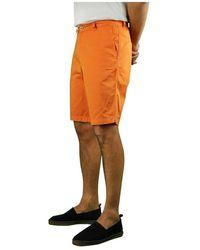 Saint James Doug II Bermuda Shorts Naranja