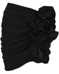 Magda Butrym Mini Skirt - Zwart