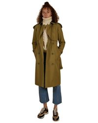 Burberry Trench Coat Wacton - Groen