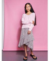 Catwalk Junkie Skirt Flower Bomb Strawberry Ice - 2102014200-496 Rosa