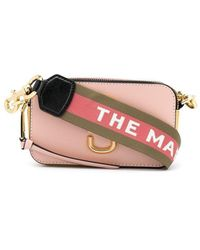 Marc Jacobs 'the Snapshot' Bag - Roze