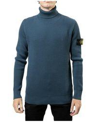 Stone Island Sweater - Blauw