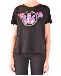 Emporio Armani T-shirt Korte Mouwen - Zwart