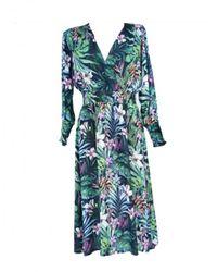 Sun68 Dress Dress L - Groen