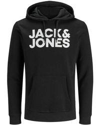 Jack & Jones Sweat à capuche - Noir