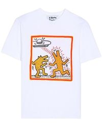 Etudes Studio Dancing Dogs T-shirt - Blanc