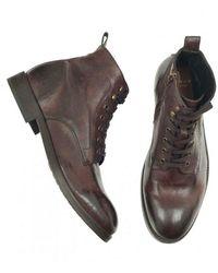 Hudson Jeans Boots Marrón