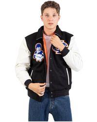Iuter Fraternity Varsity Baseball Jacket - Zwart