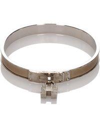Hermès - Kelly H Lock Cadena Bracelet Metal - Lyst