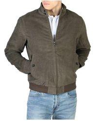 Hackett Sweatshirt Hm402086 - Marron
