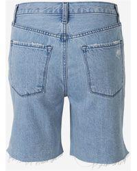 J Brand Acoustic Bermuda shorts Azul