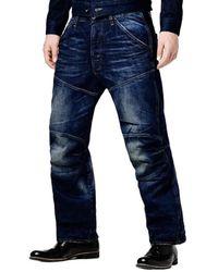 G-Star RAW Jeans Elwood 5620 3d Loose - Blauw