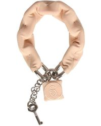 MM6 by Maison Martin Margiela - Bracelet With Padlock 6 - Lyst