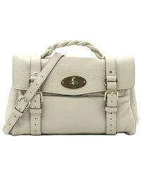 Mulberry Alexa leather shoulder bag - Weiß
