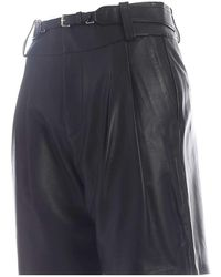 RED Valentino Short Nappa Leather Negro