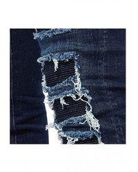 Philipp Plein Jeans straight stretch Snatch Azul