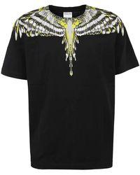 COACH T-shirt Bird Wings Regular - Zwart