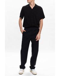 Jimmy Choo Short-sleeved shirt Negro