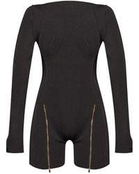 Jacquemus 'le Body Yeru Jumpsuit - Zwart