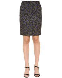 Boutique Moschino Pencil Skirt - Groen