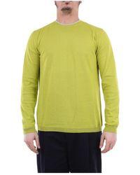 Heritage Ml0167g2z Crewneck Sweatshirt - Geel