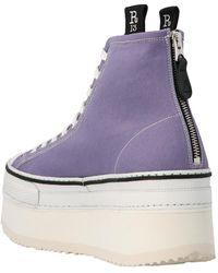 R13 Sneakers Morado