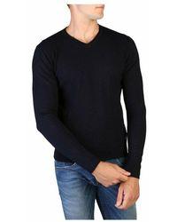 Yes-Zee M839_Mq00 knitwear - Blu