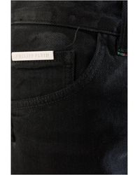 Philipp Plein Jeans slim Mdt0517 Cange Negro
